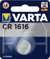 Литиева батерия CR1616, DL1616 - 3V - Varta CR 1616