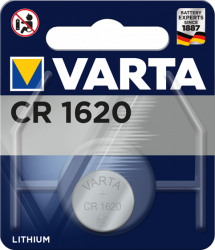 Литиева батерия CR1620, DL1620 - 3V - Varta CR 1620