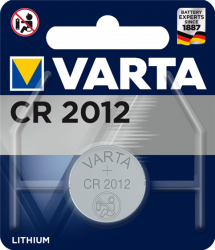 Литиева батерия CR2012, DL2012 - 3V - Varta CR 2012