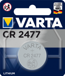 Литиева батерия CR2477, DL2477 - 3V - Varta CR 2477