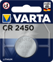 Литиева батерия CR2450, DL2450 - 3V - Varta CR 2450